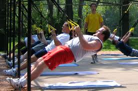 TRX beginners fitness class is a great introduction into fitness